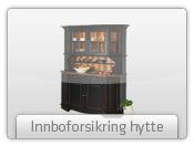 Innboforsikring hytte