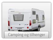 Campingvogn og tilhenger